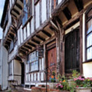 Medieval British Architecture - Dick Turpin's Cottage Thaxted Poster