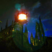 Medieval Night Poster
