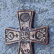 Medieval Nordic Cross Poster