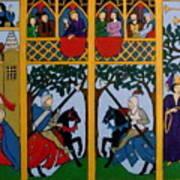 Medieval Scene Poster