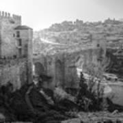 Medieval Toledo II Poster