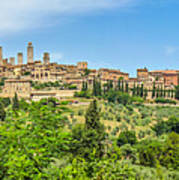 Medieval Town Of San Gimignano, Tuscany, Italy Poster