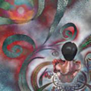 Meditating Life Universe And Beyond Poster