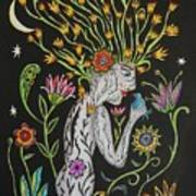 Medusa De Flores Poster