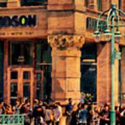 Meet You At Hudson's Poster