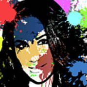 Meghan Markle Pop Art Poster