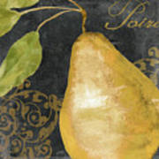 Melange French Yellow Pear Poster