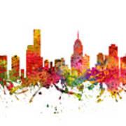 Melbourne Australia Cityscape 08 Poster