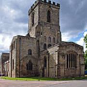 Melbourne Parish Church In Derbyshire Poster