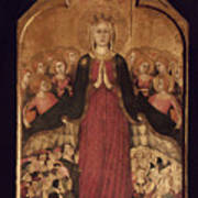 Memmi: Madonna In Heaven Poster
