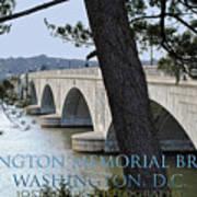 Memorial Bridge Poster