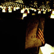 Memorial Day Luminary Poster