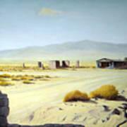 Memories Only Ballerat Calfornia Poster by Evelyne Boynton Grierson