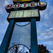 Memphis - Lorraine Motel 001 Poster by Lance Vaughn