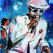 Memphis Music Legend William Bell On Stage 1 Poster