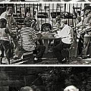 Men At Play Poster