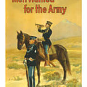 Men Wanted For The Army Poster by War Is Hell Store