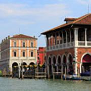 Mercato Di Rialto In Venice Italy Poster