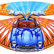 Mercedes-benz 300 Slk Poster