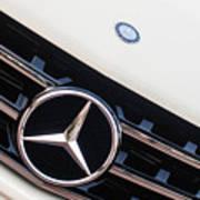 Mercedes-benz Emblem - Grille Logo -0030c Poster