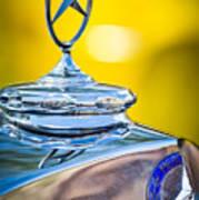 Mercedes-benz Hood Ornament - Emblem -0961c Poster