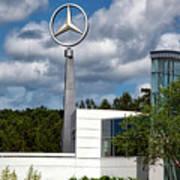 Mercedes - Benz Plant Poster