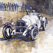 Mercedes Benz Ssk 1930 Rudolf Caracciola Poster