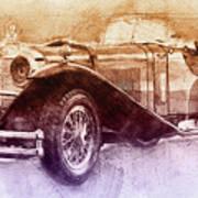 Mercedes-benz Ssk 2 - 1928 - Automotive Art - Car Posters Poster
