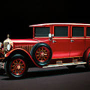 Mercedes-benz Typ 300 Pullman Limousine 1926 Painting Poster