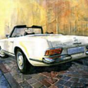 Mercedes Benz W113 280 Sl Pagoda Poster