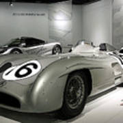 Mercedes Racer Poster