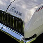 Mercury Cougar Xr7 Emblem Poster