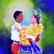 Merengue Rythm Poster