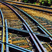 Merging Tracks Poster