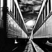 Merging Trains Poster