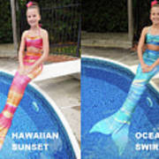 Mermaid Costume For Kids In Canada Poster