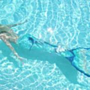 Mermaid Glide Poster