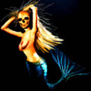Mermaid Witch Poster