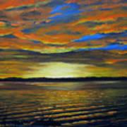 Merritt Island Sunset Poster