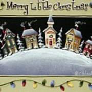 Merry Little Christmas Hill Poster
