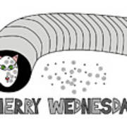 Merry Wednesday Poster