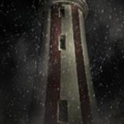 Mersey Bluff Lighthouse In Devonport. Fine Art Poster