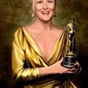 Meryl Streep Winner Poster