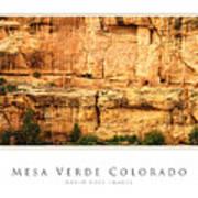 Mesa Verde Colorado Gallery Series Collection Poster