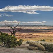 Mesa View In Utah Poster