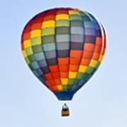 Mesquite Balloon Festival In Mesquite Nevada Poster
