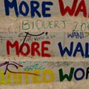 Messages Across The Wall Poster