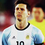 Messi #23 By Nixo Poster
