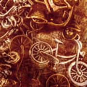 Messy Bike Workshop Poster