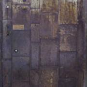 Metal Door Poster